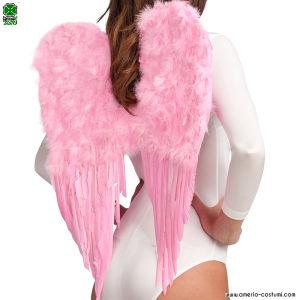 ALI ANGELO IN PIUME - 65x55 cm - Rosa