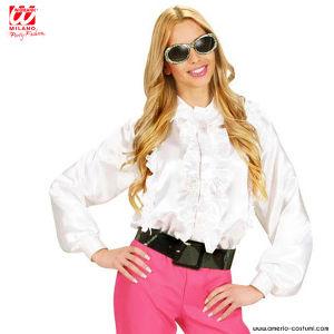 Camicia Donna con ruches - BIANCA