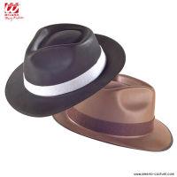 Cappello BORSALINO in vinile - disp. 2 col.