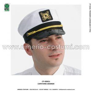 Cappello CAPITANO IN TESSUTO