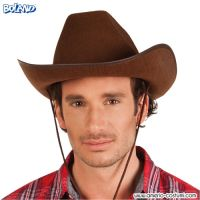 Cappello COWBOY in feltro - MARRONE