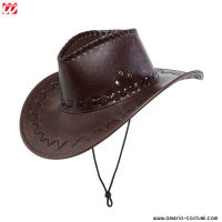Cappello COWBOY MARRONI CON DECORAZIONI