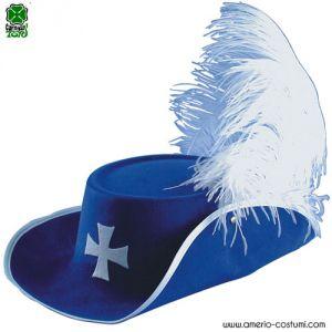 Cappello D'ARTAGNAN - BLU