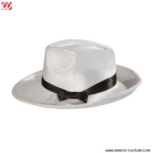 Cappello GANGSTER BIANCO in velluto
