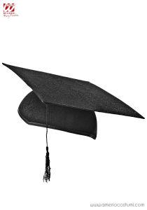 BIRRETE de graduación de fieltro