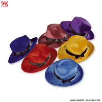 Cappello PARTY IN VELLUTO - disp. 6 col.