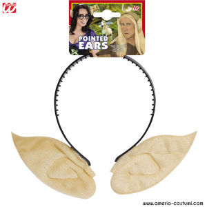 SKIN COLOR POINTED EARS HEADBAND