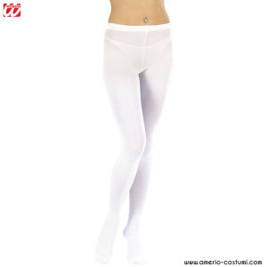 WHITE PANTYHOSE - 40 DEN - Sz. XL