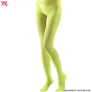 COLLANT GLITTER LIME - 40 DEN