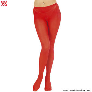 RED PANTYHOSE - 40 DEN