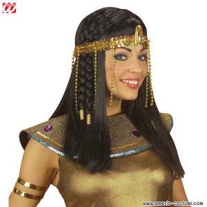 COPRICAPO DA EGIZIANA CON PERLINE