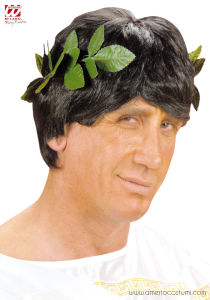 GREEN LAUREL HEADWREATH