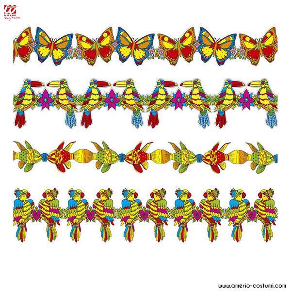 Guirlande de fête tropicale - 3 m