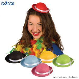 Cappello Mini Bombetta Colorata