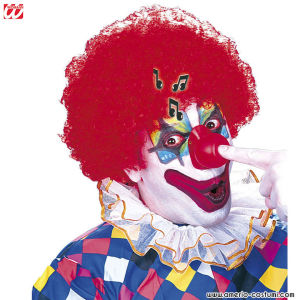 NASO CLOWN SONORO IN VINILE
