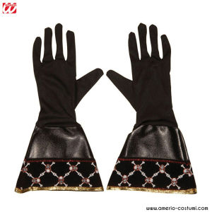 PAIR OF PIRATE IMITATION LEATHER GLOVES