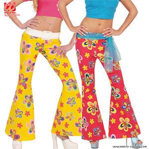 Pantaloni a Zampa d'elefante Donna - FIORATI