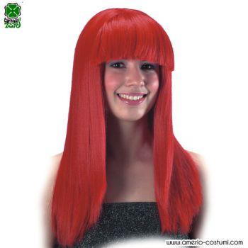 Parrucca COSMIC GIRL - ROSSA