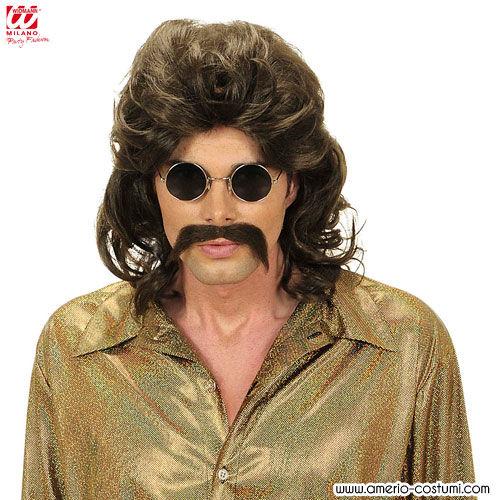 parrucca uomo anni 70