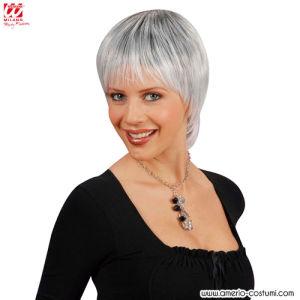 Parrucca PARIS - mechata bianco/nero