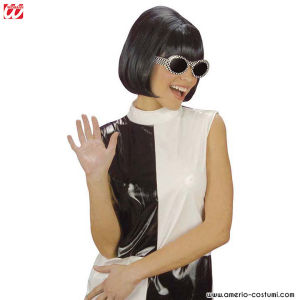 Parrucca PARTY GIRL ANNI 60 - NERA