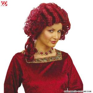 Parrucca SIGNORA BAROCCA - Rossa