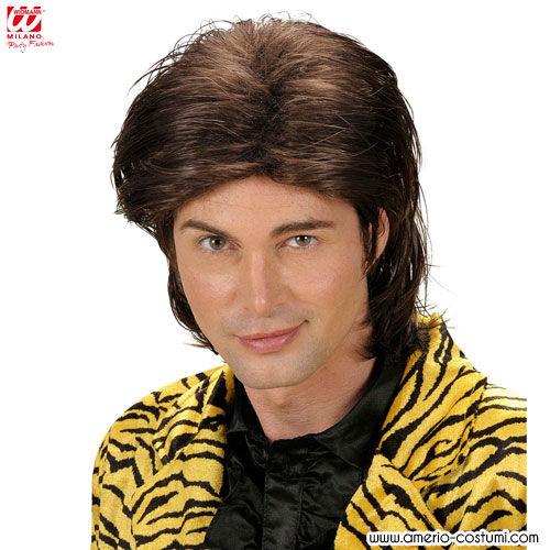 Uomo capelli effetto bagnato