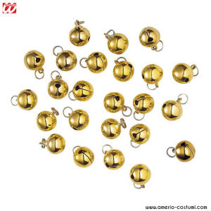 SET DA 24 CAMPANELLE DECORATIVE D.15 MM