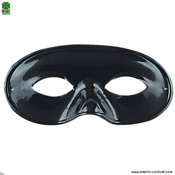 Maschera DOMINO GRANDE - NERO