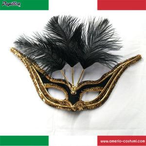 Maschera GRAN GALA' - NERO