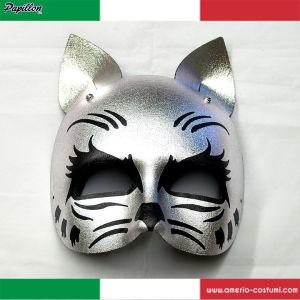 Maschera SILVER CAT