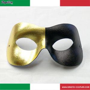Maschera SPLIT - NERO/ORO