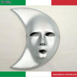 Maschera VISO LUNA - ARGENTO
