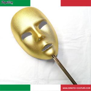Maschera VISO VENEZIA LARGE - ORO