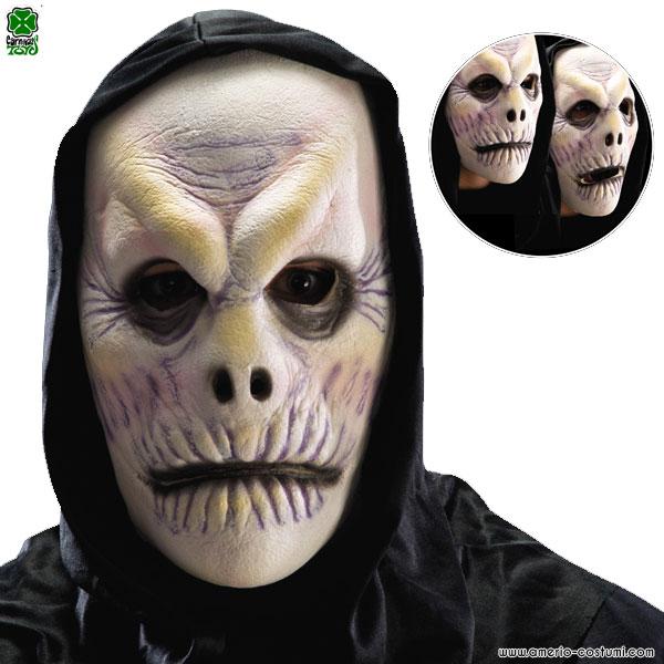 Maschera ZOMBIE CON CAPPUCCIO