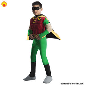 TEEN TITANS™ DLX. MUSCLE CHEST ROBIN™