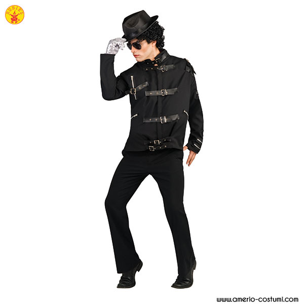 Michael Jackson - BAD - BLACK BUCKLE JACKET dlx