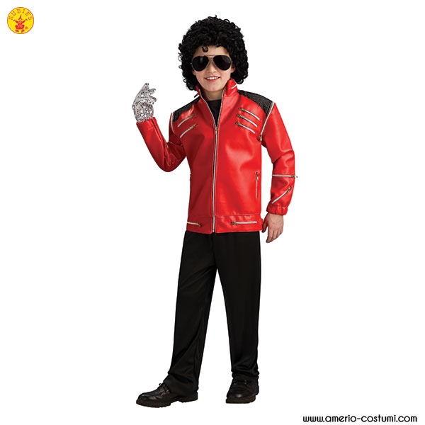 DLX.BEAT IT RED ZIPPER JACKET™