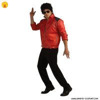 Michael Jackson - BEAT IT - RED ZIPPER JACKET dlx
