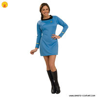 STAR TREK™ DLX. BLUE DRESS SCIENCE UNIFO