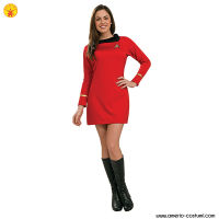 STAR TREK CLASSIC - WOMAN UNIFORM dlx - RED