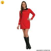 STAR TREK CLASSIC - WOMAN UNIFORM dlx - RED