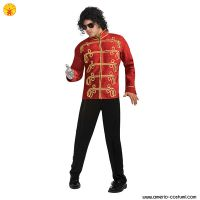 Michael Jackson - RED MILITARY JACKET dlx