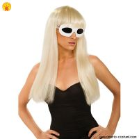 Parrucca LADY GAGA STRAIGHT WITH BANGS