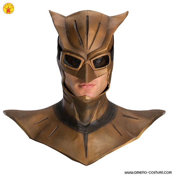 NIGHT OWL™ DLX. LATEX MASK W/COWL OVERH