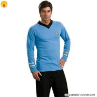 STAR TREK™ DLX. BLUE SHIRT SPOCK