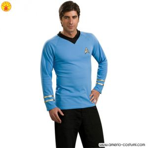 STAR TREK CLASSIC - UNIFORM dlx - BLUE