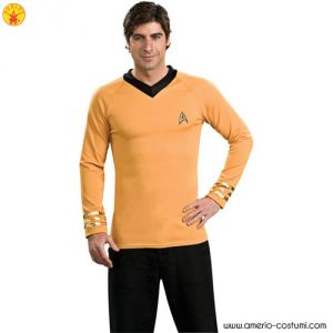STAR TREK™ DLX. GOLD SHIRT CAPT KIRK