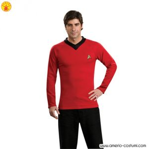 STAR TREK CLASSIC - UNIFORM dlx - RED