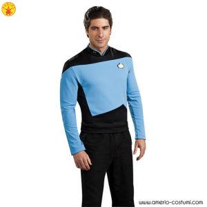 STAR TREK™ DLX. BLUE SHIRT COMMAND UNIFO